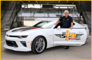 Roger Penske to Pace 2016 Indy 500 in Camaro SS