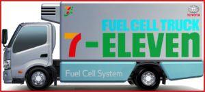 AutoInformed.com on Toyota fuel cell trucks, where the refrigeration/freezer unit, and the truck itself, are powered by fuel cells, will be introduced as refrigerator/freezer trucks for stores with the goal of reducing CO2 emissions.