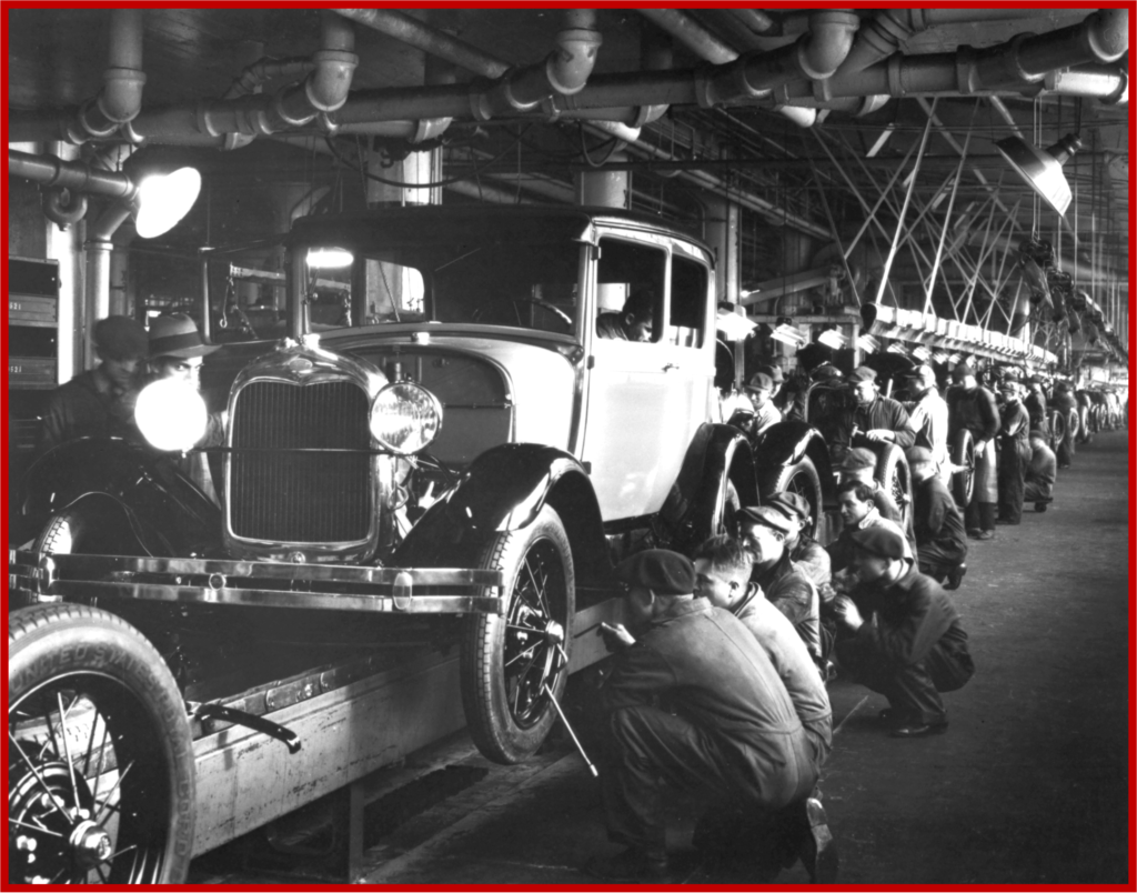AutoInformed.com on Rouge Ford Model A Assembly 1930s