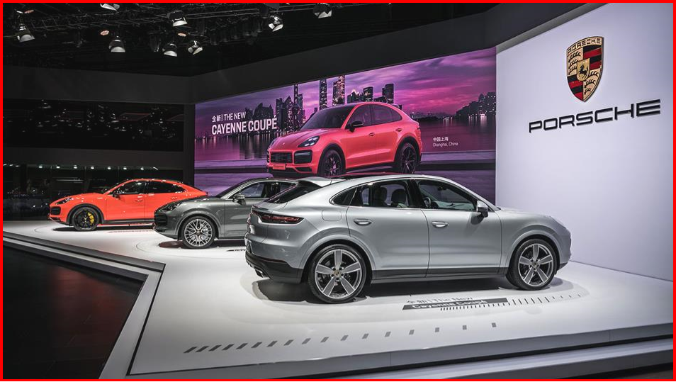 AutoInformed.com on Asian Premier of Porsche Cayenne Coupe - Shanghai 2019